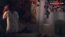 4. Kathryn Prescott Pantiless – Skins