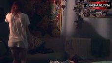 5. Kathryn Prescott Pantiless – Skins