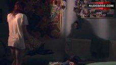 Kathryn Prescott Pantiless – Skins