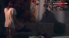 7. Kathryn Prescott Pantiless – Skins