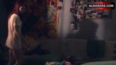 8. Kathryn Prescott Pantiless – Skins
