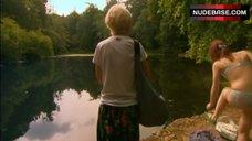 3. Kathryn Prescott in Lingerie in Nature – Skins