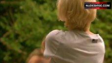 6. Kathryn Prescott in Lingerie in Nature – Skins