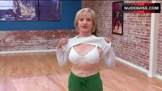1. Florence Henderson Shows White Bra – Dancing With The Stars