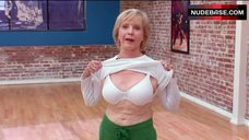 10. Florence Henderson Shows White Bra – Dancing With The Stars