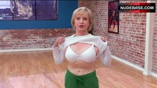 3. Florence Henderson Shows White Bra – Dancing With The Stars