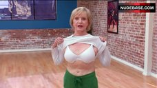 4. Florence Henderson Shows White Bra – Dancing With The Stars