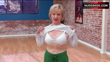 6. Florence Henderson Shows White Bra – Dancing With The Stars