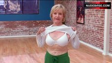 7. Florence Henderson Shows White Bra – Dancing With The Stars