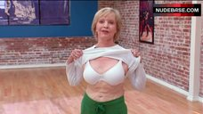 9. Florence Henderson Shows White Bra – Dancing With The Stars