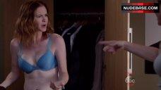Sarah Drew in Hot Bra – Grey'S Anatomy