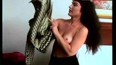 Brinke Stevens Shows Tits – Zombiegeddon