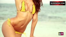 Izabel Goulart in Bikini for Magazine – Sports Illustrated: The Making Of Swimsuit 2012