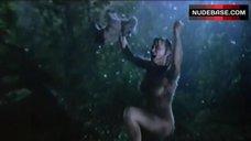 Patricia Arquette Nude under Rain – Human Nature