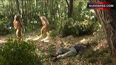 Patricia Arquette Nude in Nature – Human Nature