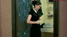 1. Julia Stiles in Black Lingerie – The Business Of Strangers