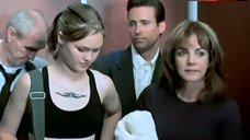 10. Julia Stiles in Black Lingerie – The Business Of Strangers