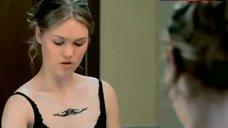 7. Julia Stiles in Black Lingerie – The Business Of Strangers