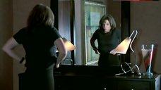 8. Julia Stiles in Black Lingerie – The Business Of Strangers