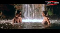 10. Estella Warren Bathing in Waterfall in Underwear – Kangaroo Jack
