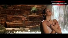2. Estella Warren Bathing in Waterfall in Underwear – Kangaroo Jack