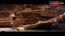 3. Estella Warren Bathing in Waterfall in Underwear – Kangaroo Jack