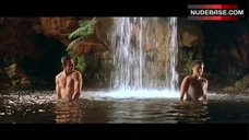 8. Estella Warren Bathing in Waterfall in Underwear – Kangaroo Jack