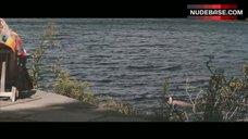 9. Elizabeth Olsen Ass Scene – Martha Marcy May Marlene