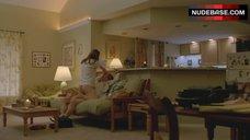 1. Alexandra Daddario Nude Pantiless – True Detective
