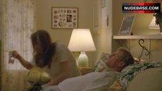 3. Alexandra Daddario Nude Pantiless – True Detective