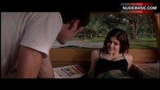 2. Alexandra Daddario Cleavage in Bra – Burying The Ex