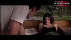 3. Alexandra Daddario Cleavage in Bra – Burying The Ex