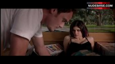 6. Alexandra Daddario Cleavage in Bra – Burying The Ex