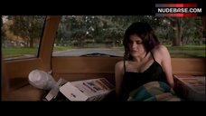 7. Alexandra Daddario Cleavage in Bra – Burying The Ex