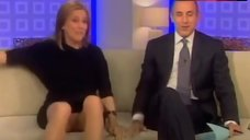 Meredith Vieira Flashes Panties – Today