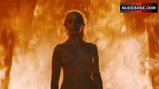 Emilia Clarke Tits Scene – Game Of Thrones