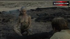 5. Emilia Clarke Naked Breasts – Game Of Thrones