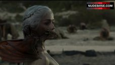 8. Emilia Clarke Naked Breasts – Game Of Thrones