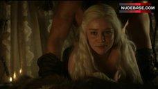 10. Emilia Clarke Rough Sex – Game Of Thrones