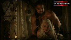 5. Emilia Clarke Rough Sex – Game Of Thrones