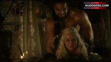 6. Emilia Clarke Rough Sex – Game Of Thrones