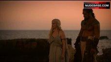 1. Emilia Clarke Bare Tits – Game Of Thrones