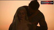 8. Emilia Clarke Bare Tits – Game Of Thrones