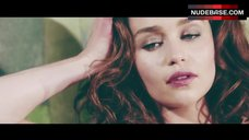 5. Emilia Clarke Lingerie Scene – Emilia Clarke Esquire Photo Shoot