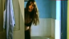 1. Rosanna Arquette in Black Sexy Lingerie – Black Rainbow
