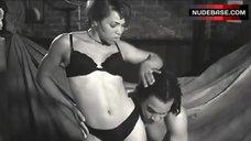Tisha Campbell Posing in Black Lingerie – Sprung