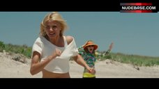7. Kate Upton in White Bikini on Beach – The Other Woman