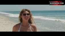 8. Kate Upton in White Bikini on Beach – The Other Woman