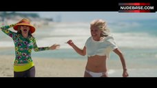 9. Kate Upton in White Bikini on Beach – The Other Woman