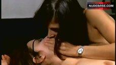 Christina Lindberg Lesbians Kissing – Thriller: A Cruel Picture